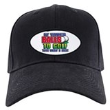 Golf Baseball Cap with Patch