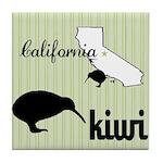 California Kiwi Tile Coaster