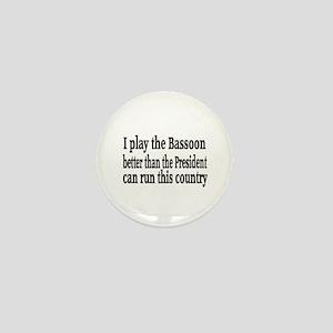 Bassoon Mini Button