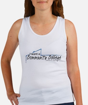 I want a Community College Women's Tank Top