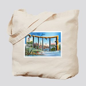 Maine ME Tote Bag