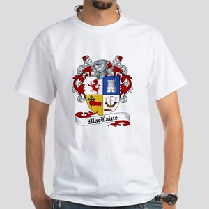 Maclaine Family Crest White T-Shirt