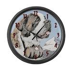 Saint Bernard Large Wall Clock