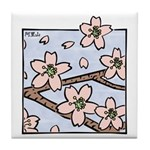 Alishan flowers Tile Coaster