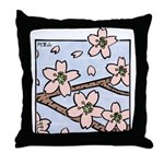 Alishan flowers Throw Pillow