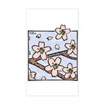 Alishan flowers Rectangle Sticker