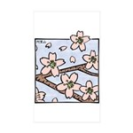 Alishan flowers Rectangle Sticker 50 pk)