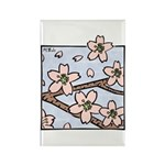 Alishan flowers Rectangle Magnet