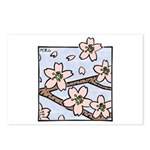 Alishan flowers Postcards (Package of 8)