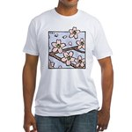 Alishan flowers Fitted T-Shirt