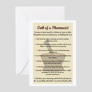 Pharmacist's Oath Greeting Card