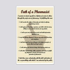 Pharmacist's Oath Mini Poster Print