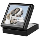 Saint Bernard Keepsake Box