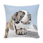 Saint Bernard Everyday Pillow