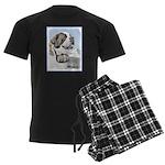 Saint Bernard Men's Dark Pajamas