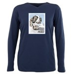 Saint Bernard Plus Size Long Sleeve Tee