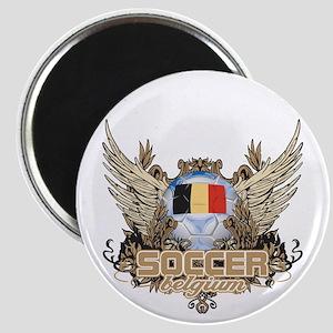 Soccer Belgium Magnet