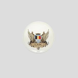 Soccer Belgium Mini Button