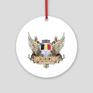 Soccer Belgium Ornament (Round)