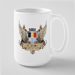 Soccer Belgium Large Mug