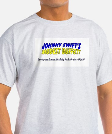 Johnny Swift's Ash Grey T-Shirt