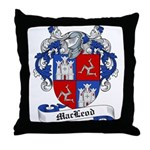 MacLeod Family Crest Throw Pillow