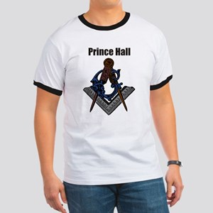 Prince Hall Square and Compass Ringer T