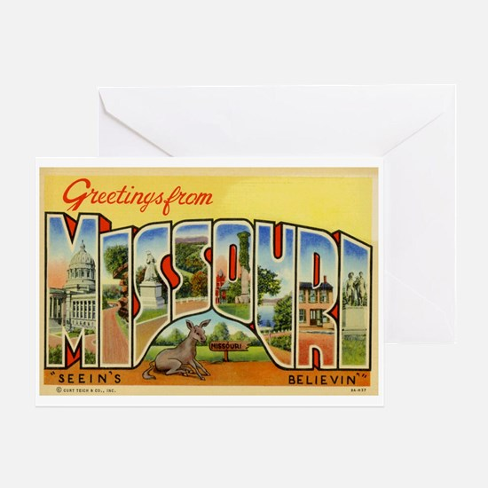 Missouri MO Greeting Card