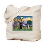 St Francis & 2 Tri Aussies Tote Bag