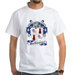 MacNaughton Family Crest White T-Shirt