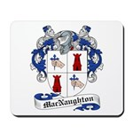 MacNaughton Family Crest Mousepad