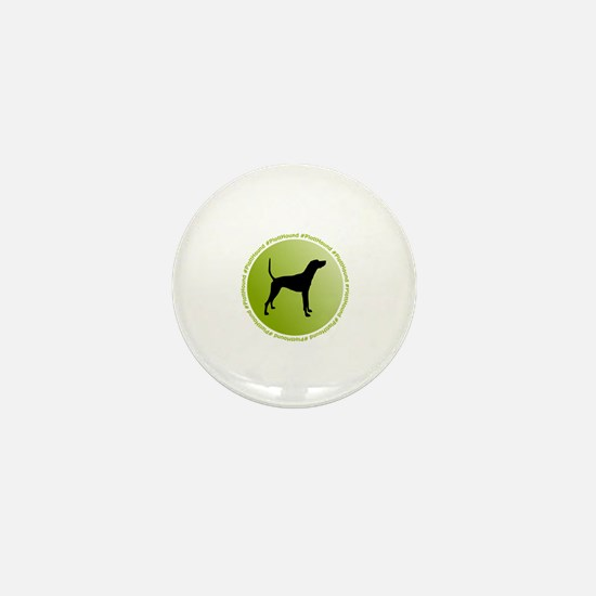 Unique Dog bone Mini Button