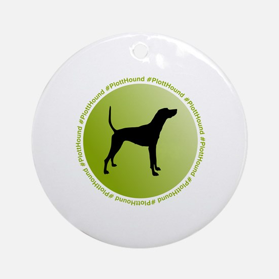 Unique Dog bone Round Ornament
