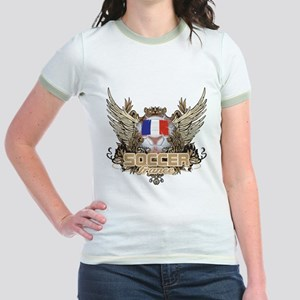 Soccer France Jr. Ringer T-Shirt