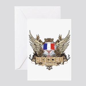 Soccer France Greeting Card