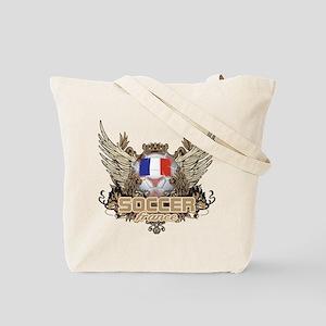Soccer France Tote Bag