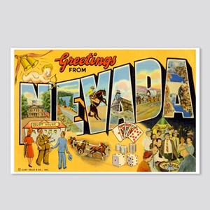Nevada NV Postcards (Package of 8)