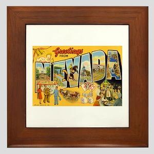 Nevada NV Framed Tile