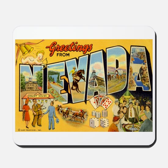 Nevada NV Mousepad