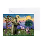 St Francis & Aussie Greeting Cards (Pk of 10)