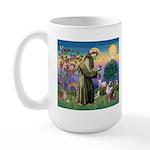 St Francis & Aussie Large Mug