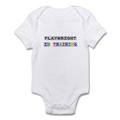 Playwright In Training Infant Bodysuit