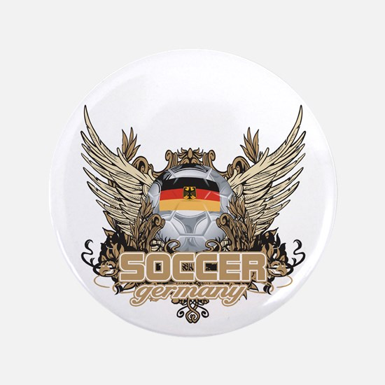 "Soccer Germany 3.5"" Button"