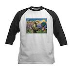 St Francis/ Aus Shep Kids Baseball Jersey