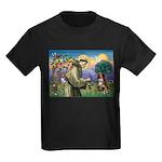 St Francis/ Aus Shep Kids Dark T-Shirt
