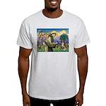St Francis/ Aus Shep Light T-Shirt
