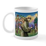 St Francis/ Aus Shep Mug