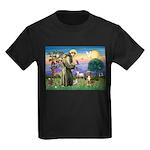 St Francis/Aussie (#5) Kids Dark T-Shirt