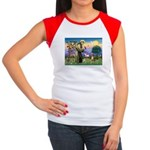 St Francis/Aussie (#5) Women's Cap Sleeve T-Shirt