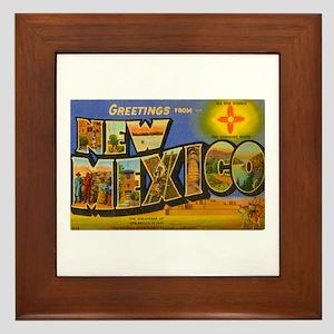 New Mexico NM Framed Tile